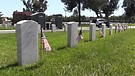 Memorial Day meditation: patterns of military veterans' tombstones at L.A. National Cemetery